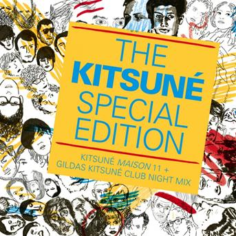 Hey today the kitsun special edition kitsun maison for Housse de racket roman oliver remix