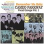 Compilation Remember me baby: cameo parkway vocal groups vol. 1 avec The Impacs / Rick & the Masters / The Skyliners / The Sequins / The Lydells...