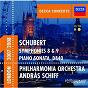 Album Schubert: symphonies 8 & 9 etc de András Schiff / The Philharmonia Orchestra / Franz Schubert