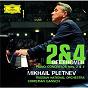 Album Beethoven: piano concertos nos. 2 & 4 de Russian National Orchestra / Christian Gansch / Mikhail Pletnev