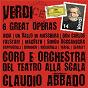 Compilation Verdi: 6 great operas avec Romano Gandolfi / Antonio Ghislanzoni / Giuseppe Verdi / Claudio Abbado / Orchestra del Teatro Alla Scala Di Milano...