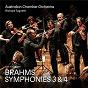 Album Brahms: symphonies 3 and 4 de Australian Chamber Orchestra / Richard Tognetti
