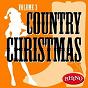 Compilation Country christmas volume 3 avec Texas Tornados / Anita Cochran / Neal Mccoy / Emmylou Harris / Travis Tritt
