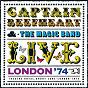 Album Live - london '74 de Captain Beefheart