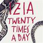 Album Twenty times a day (edit version) de Izïa