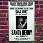 Album Gold dust - live at the royalty (the final concert) de Sandy Denny