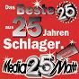 Compilation 25 jahre deutscher schlager avec Stefan Waggershausen / Dschinghis Khan / Christian Franke / Roland Kaiser / Gitte Hænning...