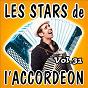 Compilation Les stars de l'accordéon, vol. 31 avec Louis Corchia / Maurice Larcange / Aurélien Schneider / René Grolier / Bernard Marly...