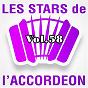 Compilation Les stars de l'accordéon, vol. 58 avec Martine Appert / Damien Poyard / Bernard Marly / Guy Denys / Manu Maugain...