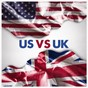 Album Us vs uk (intercontinental hits) de 50 Tubes du Top / Top 40 Hits / Exitos Actuales