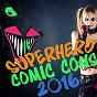 Compilation Superhero comic cons 2016 avec Crazee Noize / Robert Velvet / Graham BLVD / Chateau Pop / Silver Disco Explosion...