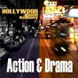 Compilation Hollywood sound academy-action & drama themes avec Black Rob / Steve Goldbloom / Arthur Morley / Time Machine / Players...