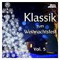 Compilation Klassik zum weihnachtsfest, vol. 5 avec Johannes Brahms / Gaetano Donizetti / George Frideric Handel / W.A. Mozart / Georges Philipp Telemann...