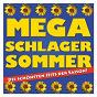 Compilation Mega schlager sommer - die schönsten hits der saison avec Franz Lambert / Rex Gildo / Die Flippers / Bernd Cluver / Show Mix Sextett...
