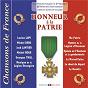 """Compilation Honneur à la patrie (collection """"chansons de france"""") avec Adrien Legros / Lucien Lupi / Michel Denis / François Julien Brun / Arlette Deguil..."""