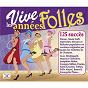 Compilation Vive les années folles (125 succès) avec Hélène Régelly / Orchestre de Raymond Legrand / Andrex / Anny Flore / Roland Petit...