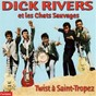 Album Twist à saint tropez de Dick Rivers, les Chats Sauvages
