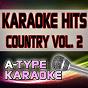 Album A-type karaoke country hits, vol. 2 (karaoke version) de A-Type Karaoke
