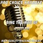 Album Sing the hits of westlife (karaoke version) (originally performed by westlife) de Pro Choice Karaoke