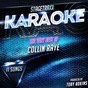 Album Stagetraxx karaoke : the very best of collin raye (karaoke version) de Toby Adkins