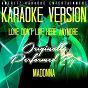 Album Love don't live here anymore (karaoke version) (originally performed by madonna) de Ameritz Karaoke Entertainment