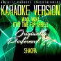 Album Waka waka (this time for africa) (karaoke version) (originally performed by shakira) de Ameritz Karaoke Entertainment