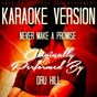 Album Never make a promise (karaoke version) (originally performed by dru hill) de Ameritz Karaoke Entertainment
