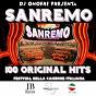 Compilation Dj onofri presenta: sanremo 100 original hits (festival della canzone italiana) avec Robertino / Jenny Luna / Luciano Tajoli / Adriano Celentano / Tony Dallara...