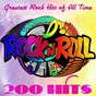 "Compilation 200 Hits Rock'n'Roll (200 Greatest Rock Hits of All Time) avec Vince Taylor / Elvis Presley ""The King"" / Bill Haley / Buddy Holly / Gene Vincent..."