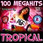 Compilation 100 megahits tropical avec Cuarteto Esperanza / Extra Latino / Roland / Kristina Korvin / Elie...