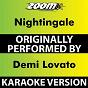Album Nightingale (Karaoke Version) (Originally Performed By Demi Lovato) de Zoom Karaoke
