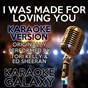 Album I was made for loving you (karaoke version) (originally performed by tori kelly & ed sheeran) de Karaoke Galaxy
