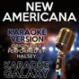 Album New americana (karaoke version) (originally performed by halsey) de Karaoke Galaxy