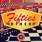 Compilation Fifties diner (by vintage music) avec The Flares / The Nite Riders / Gene Vincent / Eddy Cochran / Tommy Steele & the Steelmen...