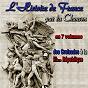 Compilation Histoire de france par la chanson, des croisades à la iiième république avec Denise Benoît / Jean Giraudeau / Claude Devos / Jacques Rondeleux / Irène Joachim...