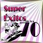 Compilation Super éxitos de los 70 vol. 2 avec Mélanie / Dionne Warwick / Chubby Checker / Status Quo / Kenny Rogers...