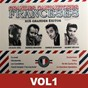 Compilation Grandes cantautores franceses - sus grandes éxitos, vol. 1 avec Charles Aznavour / Gllbert Bécaud / Jacques Brel / Gilbert Bécaud / Georges Brassens