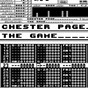 Album The game de Chester Page