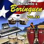 Compilation Cantando a borinquen, vol. 24 avec Carmen Delia Dipiní / Bobby Capó / Tito Rodríguez / Roberto Roena Y Su Apollo Sound / Daniel Santos...