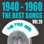 Compilation 1940 - 1960 : the best songs, vol. 20 avec Jeanette MC Donald / Marcel Merkès, Paulette Merval / Lina Margy / Anny Gould / Charles Aznavour, Pierre Roche...