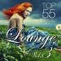 Compilation Lounge top 55, vol.3 (deluxe) avec De Madrugada / 8000below / Guenter Haas / Redlounge Orchestra / Lazy Hammock...
