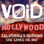 Album California's burning / she loves me not de V0id