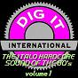 Compilation The italo hardcore sound of the 90's, vol. 1 (best of dig-it international) avec Les X / Corrente Elettrica / Claudio Ceruto, Dario Imbrogno / Tata / Techno G....