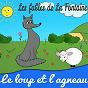 Album Les fables de la fontaine - le loup et l'agneau de Sidney Oliver