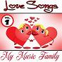 Album Love songs - volume 1 de My Music Family