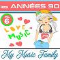 Album Les années 90 - volume 6 de My Music Family
