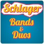 Compilation Schlager - bands & duos avec Andreas Martin Krause / Uwe Busse / Karlheinz Rupprich / Die Flippers / Alfons Weindorf...