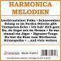 Compilation Harmonica melodien avec Lang, Meder / Kölscher / Das Grosse Akkordeon Orchester / Zobel, Steib / Juppi Zirnberger S Akkordeon Compagnie...