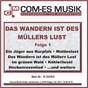 Compilation Das wandern ist des müllers lust, folge 1 avec Anita & Peter / Pit, Gulay / Winfried & Hugo Braun S Blasmusikanten / Hugo Braun S Blasmusikanten / Trad....