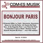 Compilation Bonjour paris avec The Velvet Sound Orchestra / Ricciardi, Cesareo / Dalida / West, Plante / Richard Anthony...